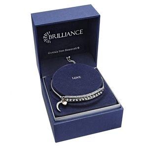 Brilliance Adjustable Bracelet Swarovski Crystals